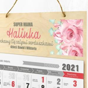 kalendarz ścienny dla mamy
