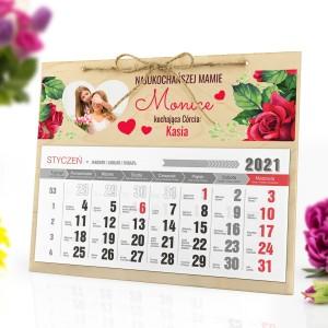 fotokalendarz 2021 z personalizacją