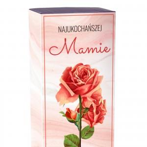 róża pozłacana dla mamy