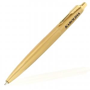 złoty długopis parker jotter gold z grawerem