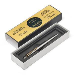 długopis parker jotter z grawerem pamiątka bierzmowania