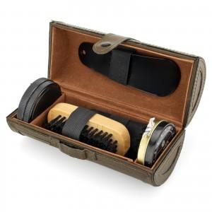 zestaw do czyszczenia butów w etui