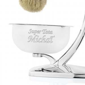 zestaw do golenia z grawerem na prezent dla taty