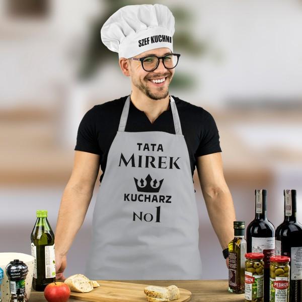 zestaw dla kucharza fartuch i czapka