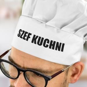 czapka kucharza szef kuchni