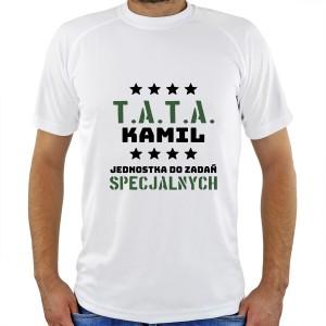koszulka z imieniem dla taty