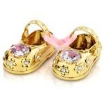 spersonalizowane buciki swarovski dla dziewczynki
