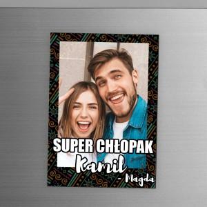 magnes ze zdjęciem dla chłopaka - Super chłopak