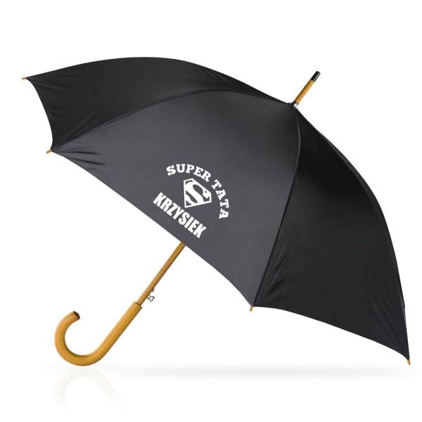 parasol z personalizacją dla taty