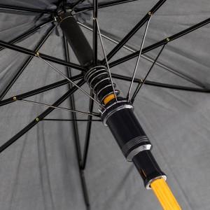 parasol z inicjałami na prezent