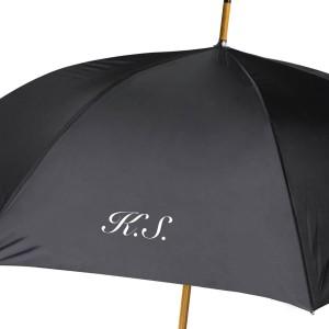 personalizowany parasol z nadrukiem inicjałów