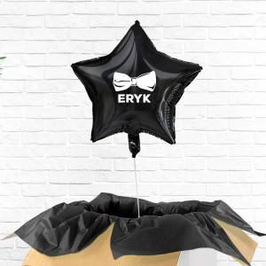 balon z nadrukiem imienia na prezent na 30 urodziny