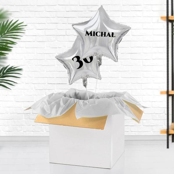 balony gwiazdy na 30 urodziny dla bliskiej osoby