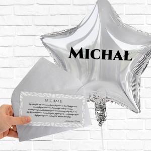 balony helem z personalizacją na urodziny