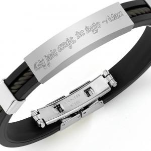 bransoletka z grawerem na prezent dla miłośnika motoryzacji