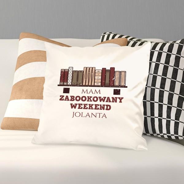 poduszka z nadrukiem imienia na prezent