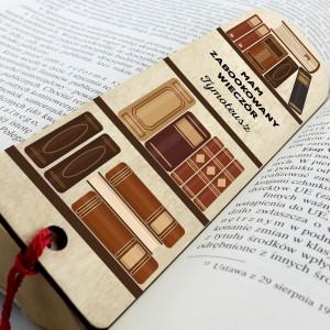 personalizowana zakładka do książki z grawerem dla mężczyzny