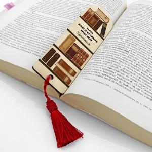 drewniana zakładka do książki dla niego na prezent