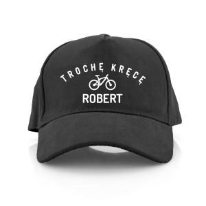 czapka bejbolówka z imieniem dla niego na prezent
