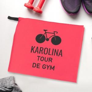 ręcznik sportowy z personalizacją