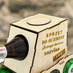 personalizowany czołg na piwo na prezent dla chłopaka