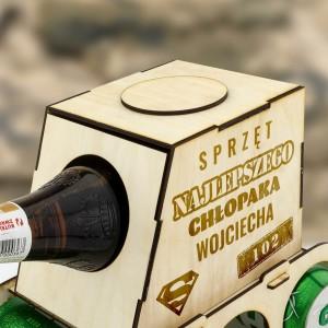 personalizowany czołg na piwo z grawerem