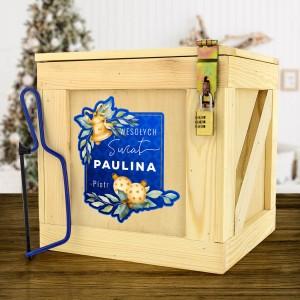 personalizowany box prezentowy dla niej na święta
