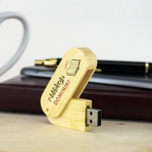 prezent dla mola książkowego pendrive z nadrukiem