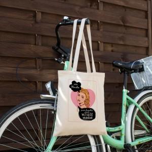 torba z personalizacją na zakupy dla mola książkowego