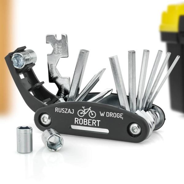 zestaw kluczy dla rowerzysty na prezent