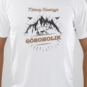 koszulka z personalizowanym nadrukiem dla niego