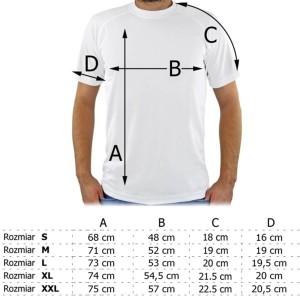 tabela rozmiarów męskich