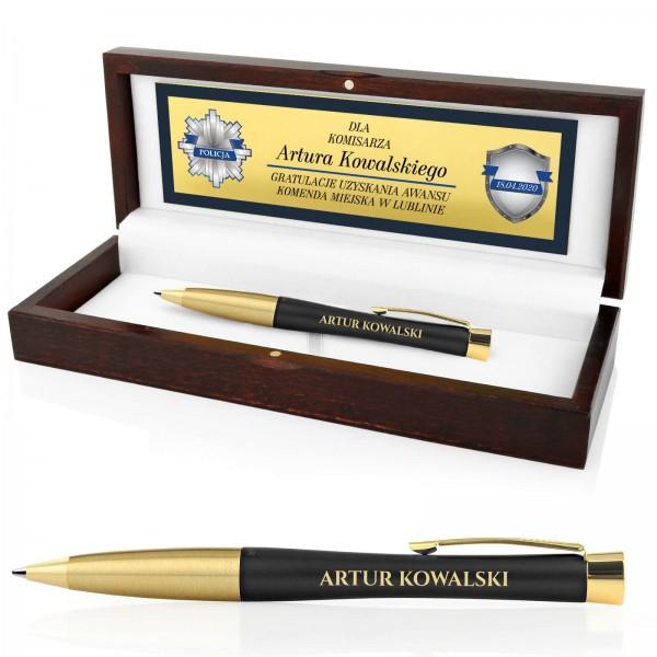 długopis parker z grawerem dla policjanta