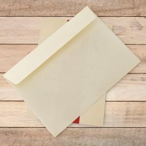 koperta na kartkę z życzeniami