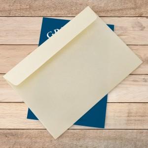 koperta i kartka z życzeniami