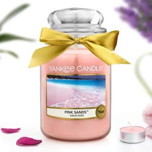 świeca zapachowa yankee candle pink sands