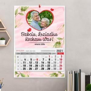kalendarz 2021 personalizowany z nadrukiem