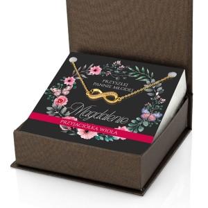 prezent na wieczór panieński bransoletka z dedykacją dla przyjaciółki