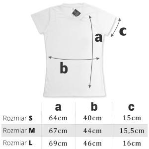 damska koszulka z personalizacją
