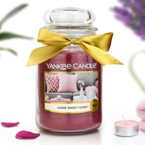 świeca zapachowa yankee candle duża w słoiku