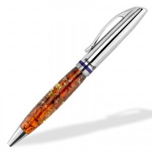 długopis z bursztynem na prezent dla promotora