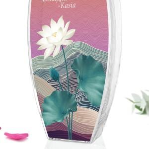 wazon na kwiaty z nadrukiem