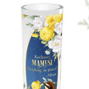 wazon dekoracyjny z nadrukiem dla mamy
