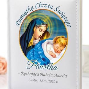 album na zdjęcia na pamiątkę chrztu