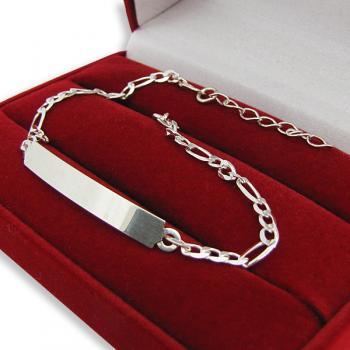 Srebrna bransoletka prezent z okazji urodzin