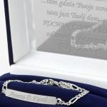 personalizowana bransoletka w etui