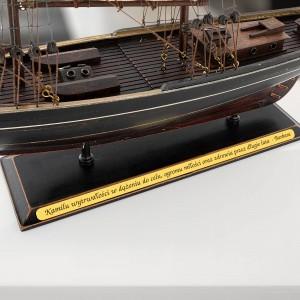 prezent dla miłośnika żeglarstwa model statku