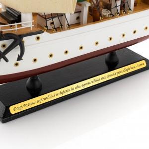 prezent dla miłośnika żeglarstwa model statku morskiego