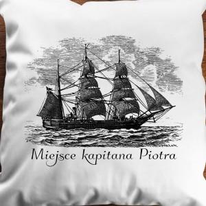 personalizowana poduszka dla podróżnika