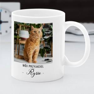 kubek z nadrukiem zdjęcia dla miłośnika kotów